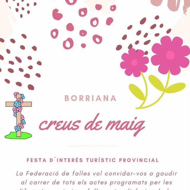 Borriana viur hui la plant de les CreusDeMaig17 una festahellip