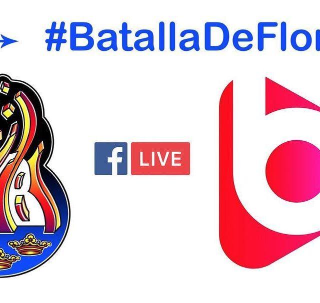 La ffallesburriana retransmetr en directe per facebook la BatallaDeFlors17 grcieshellip