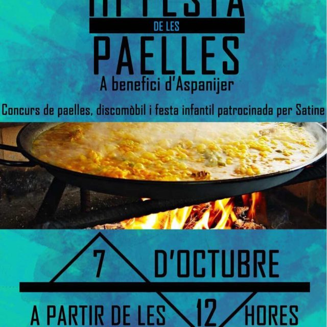 Un any ms presentem la festa de les paelles! Totahellip